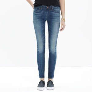 Madewell Skinny Skinny Edmonton Distressed Jeans